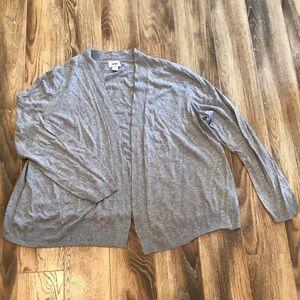NWOT Old Navy Gray Sweater Cardigan XXL